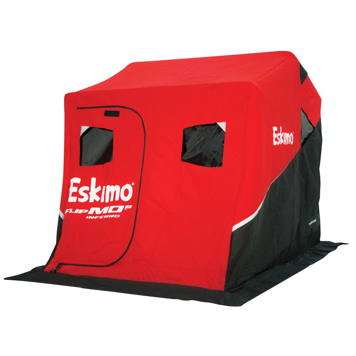 Eskimo flipmo 2 inferno fully insulated ice house with for Ice fishing deals