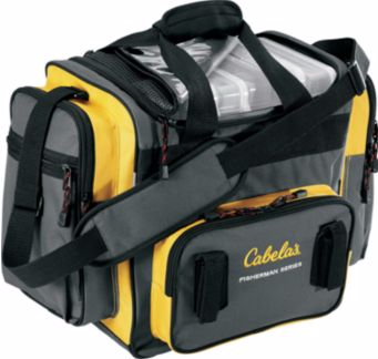 Cabela s fisherman series tackle bag for Ice fishing deals